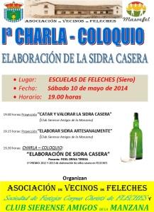 CHARLA COLOQUIO SIDRA CASER